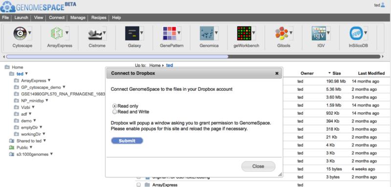 GenomeSpace: Blog